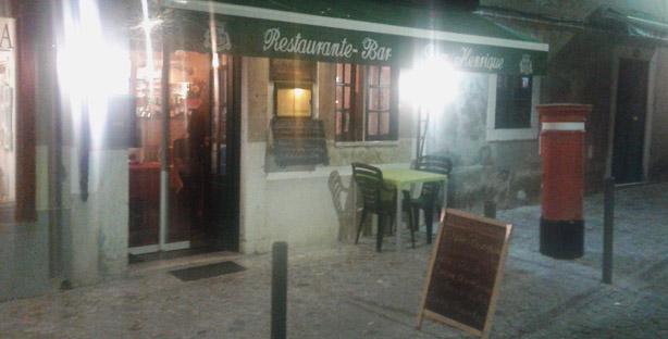 dom henrique restaurante alentejano carnide exterior