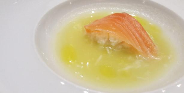 claro restaurante sofisticado chef vitor claro paço de arcos salmao