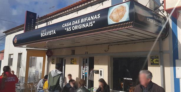 """CAFÉ BOAVISTA – CASA DAS BIFANAS """"ORIGINAIS"""" (Vendas Novas)"""