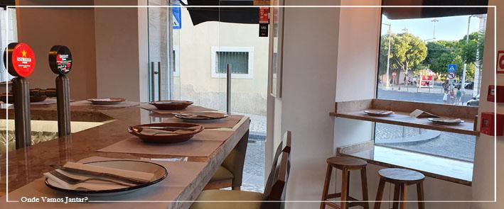 o frade restaurante interior