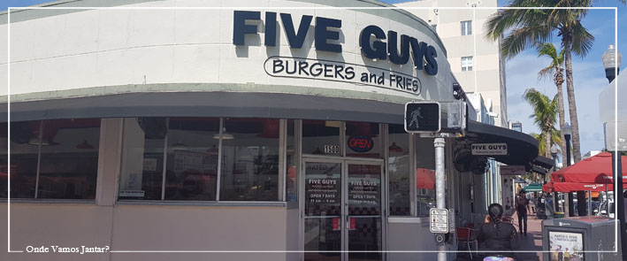miami beach restaurantes five guys