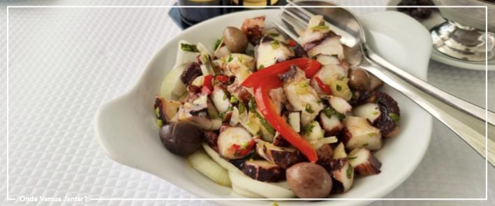 restaurante oceanário salada polvo