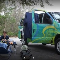 camping van rental usa road trip