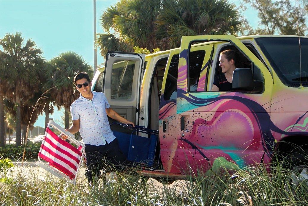 hire a travel van florida