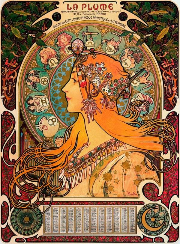 Alphonse Mucha Zodiac