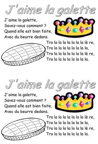 Parole J Aime La Galette : parole, galette, Dirait