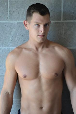 trace estess shirtless hunk