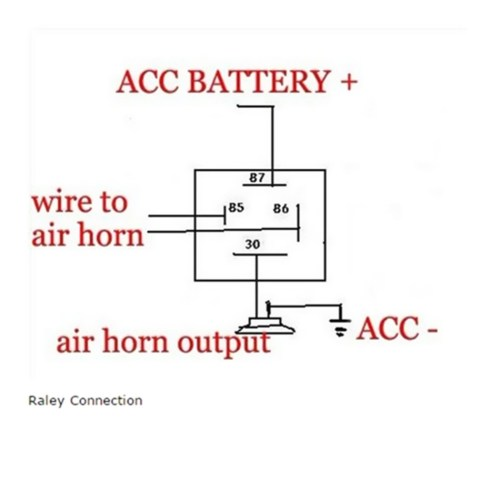 small resolution of dixie air horn wiring diagram