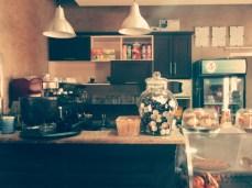Comptoir à l'intérieur de La cafétéria