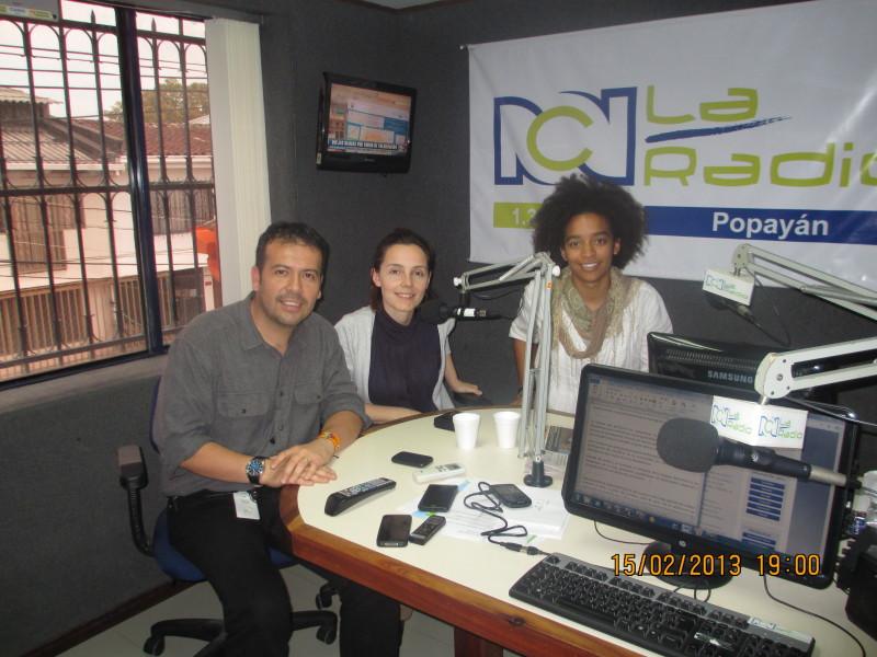 Academia DHIS en la radio