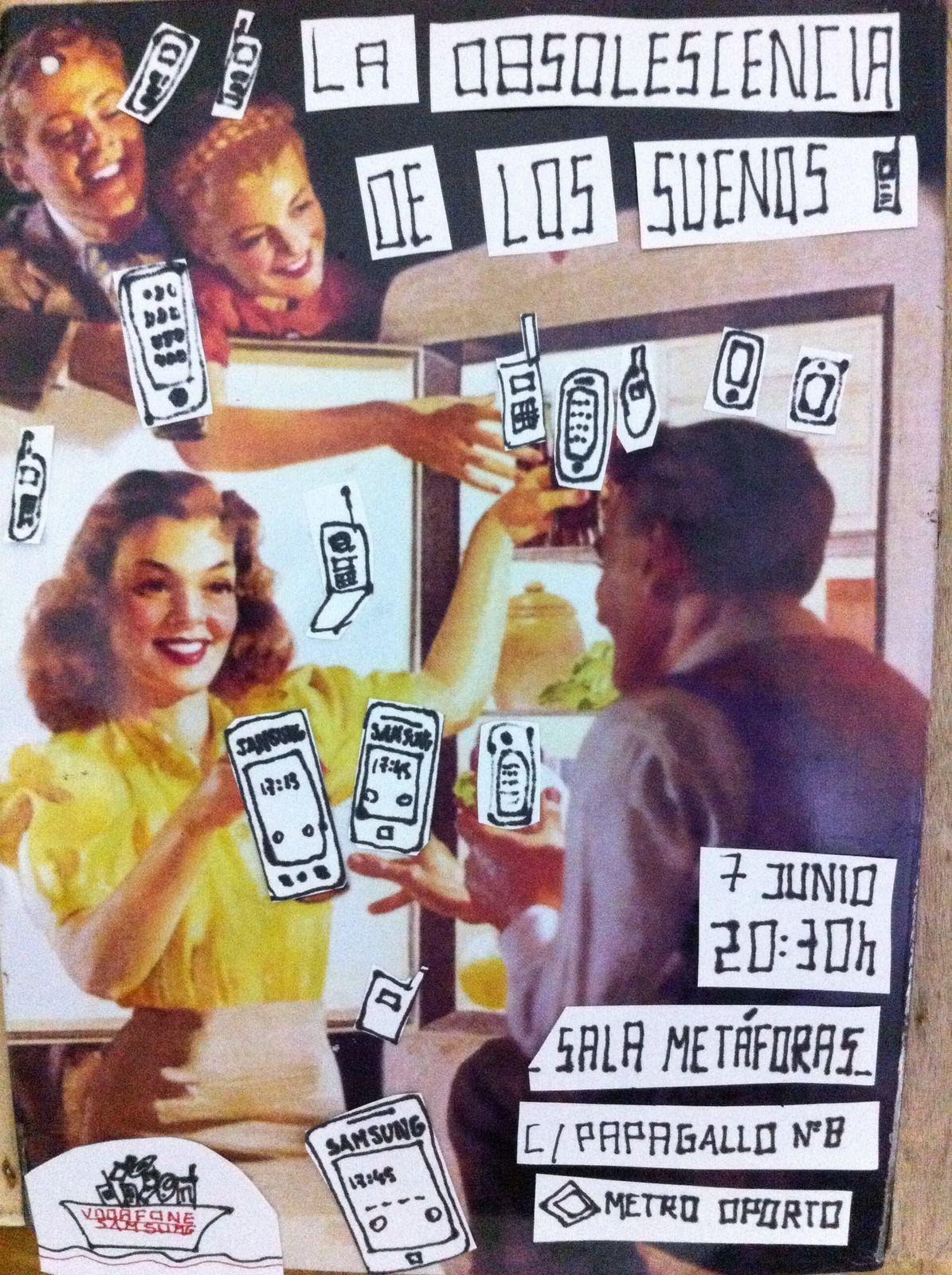 cartel teatro foro TIC obsolescencia de los sueños