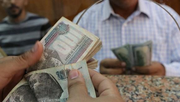 أسعار الدولار أمام الجنيه المصري خلال التعاملات الصباحية اليوم