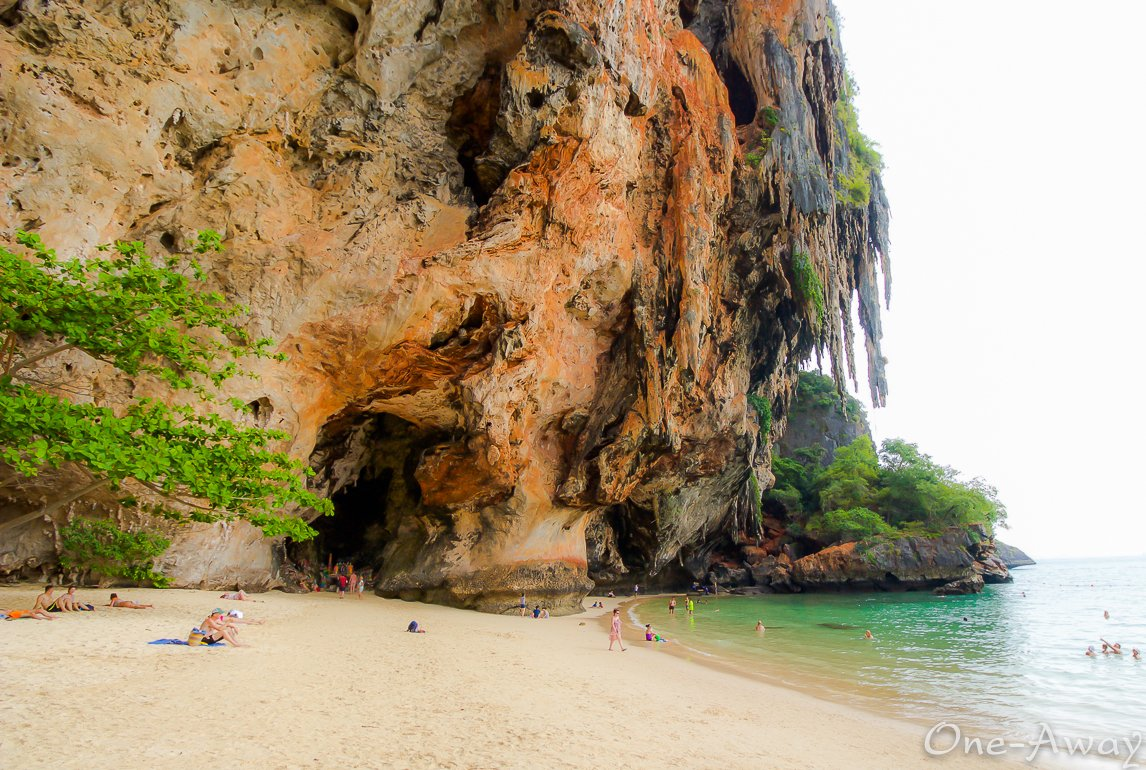Things to Do in Krabi Thailand:  Railay Beach Rock Climbing and Phra Nang Cave Beach