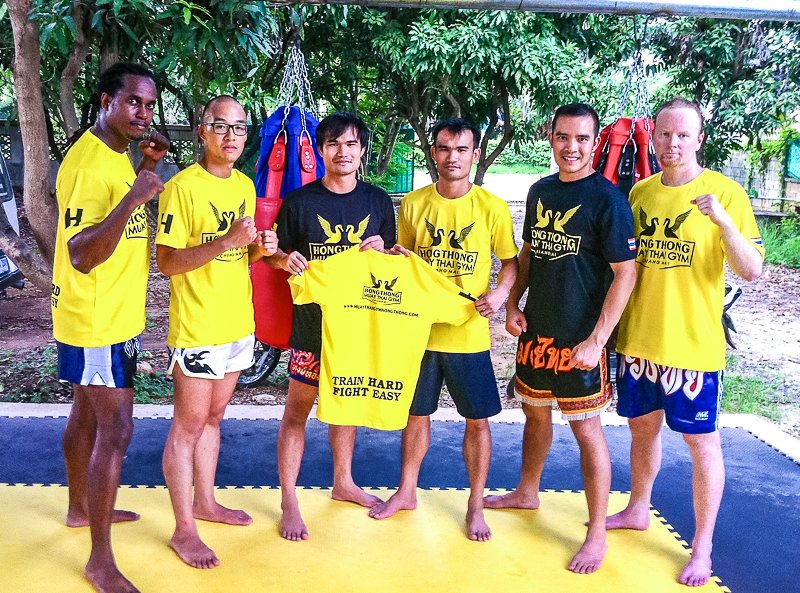 Muay Thai Boxing - Training With Champions - Hongthong Muay Thai Gym