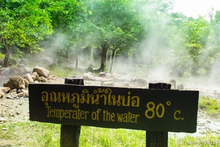 Pai Hot Springs