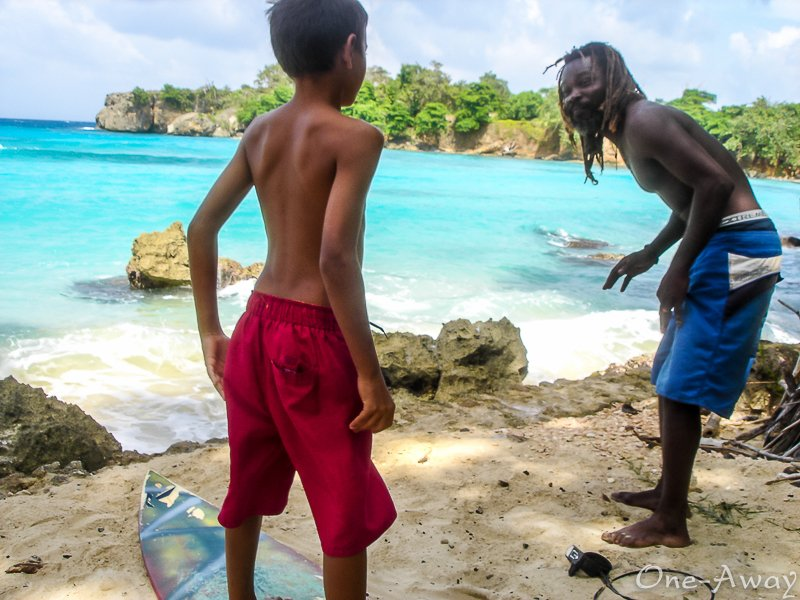 Learn To Surf-Boston Bay-Jamaica