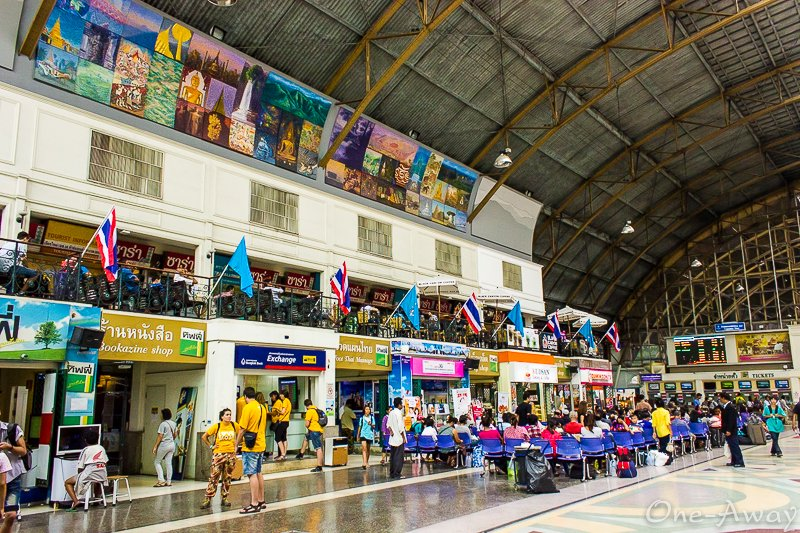 Hua Lamphong Train Station Bangkok Thailand
