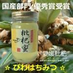 ハニオブザイヤー2019 国産部門 優秀書 愛媛 びわ蜂蜜
