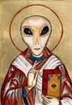 Angebliche Darstellung eines Archonten, Quelle nicht auffindbar - Diese Darstellung stammt nicht von den ursprünglichen gnostischen Überlieferungen
