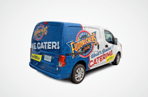 Fuddruckers Catering Van Design