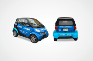 Marlin Travel Smart Car Wrap
