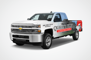 Quality Plus Truck Wrap Design