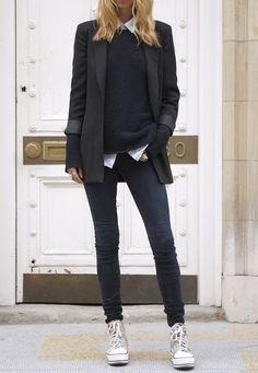 Les basiques: la veste blazer noire ou bleu-marine