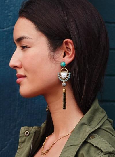 Boucles d'oreilles pendantes - Stelladot