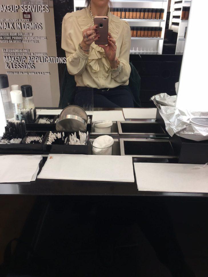 leçon de maquillage MAC