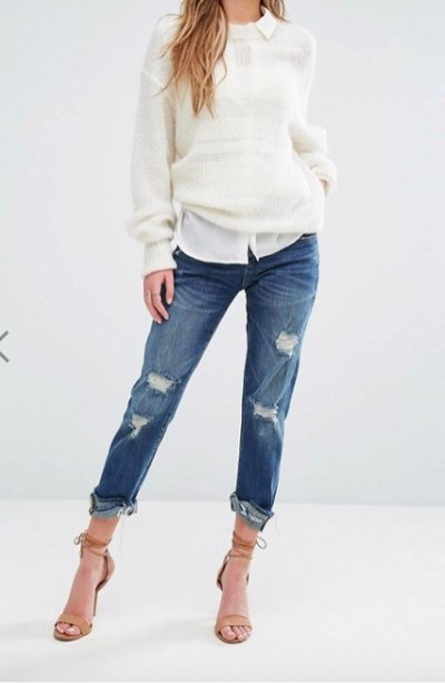 Le jean Girlfriend ASOS