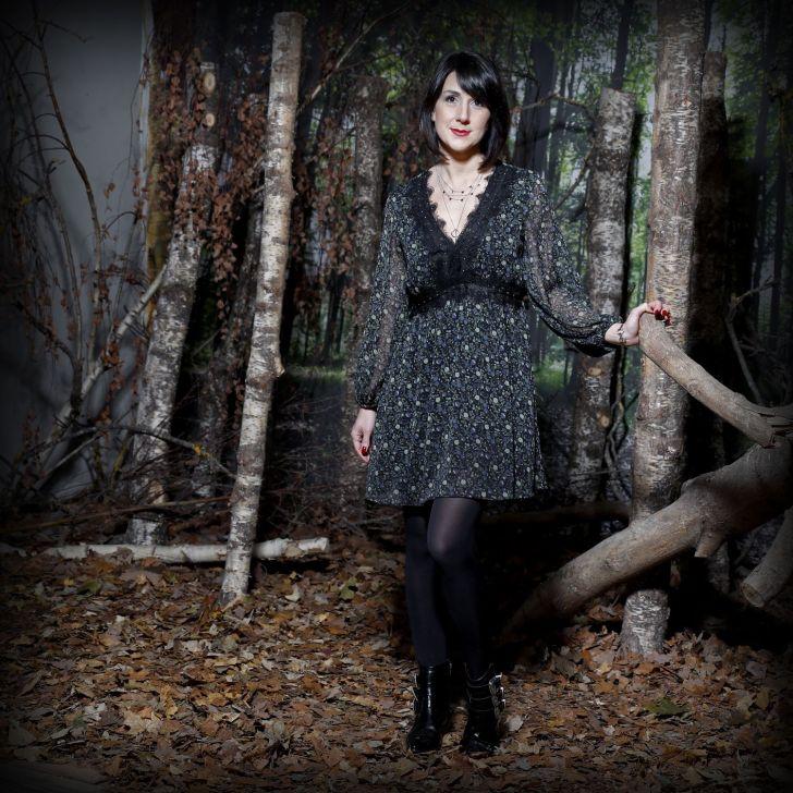 Robe Zara #look3, «In the dark»