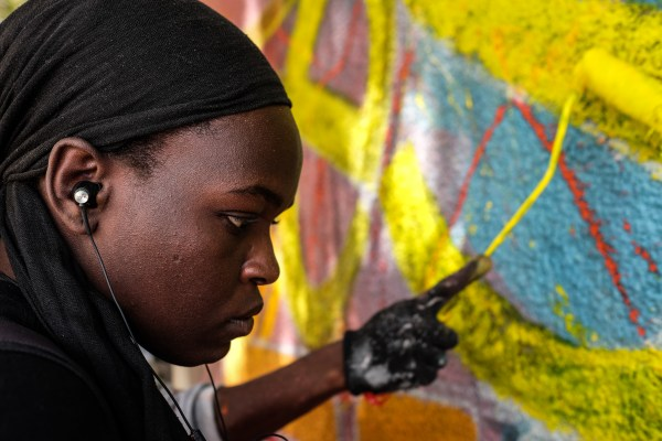Female Graffiti Artist