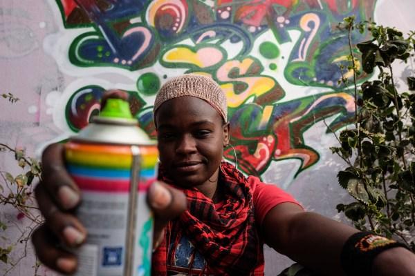 Female Graffiti Artist