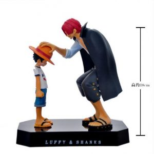 figurine et lampe one piece one piece