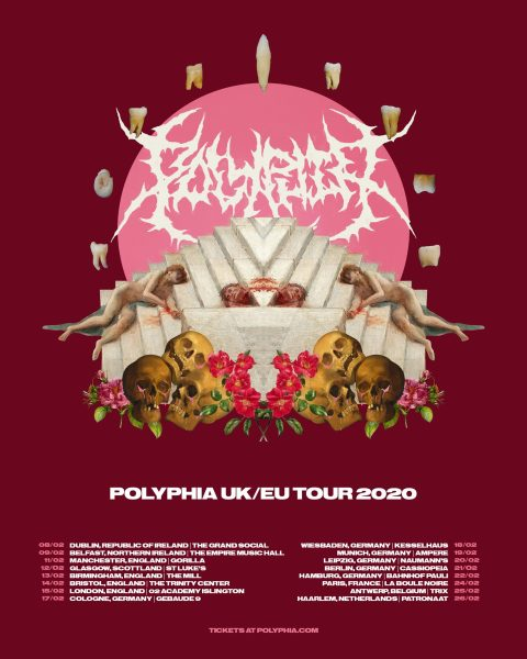 polyphia tides of man unprocessed UK EU 2020 tour