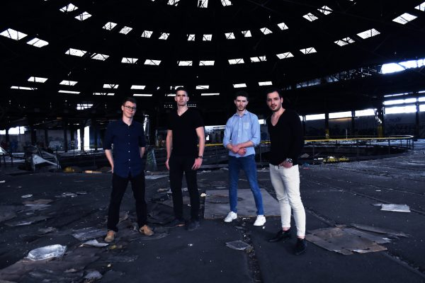 hype lights french band promo reckless EP