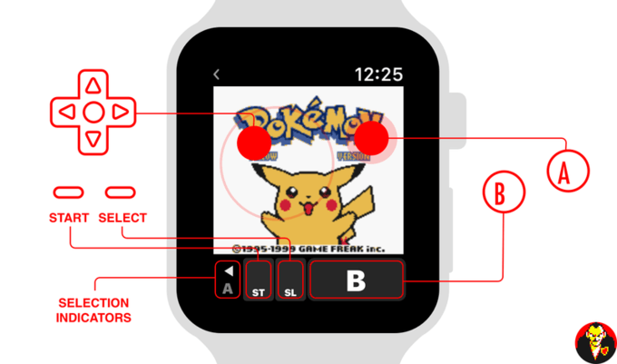 AppleWatch Pokemon Amarillo