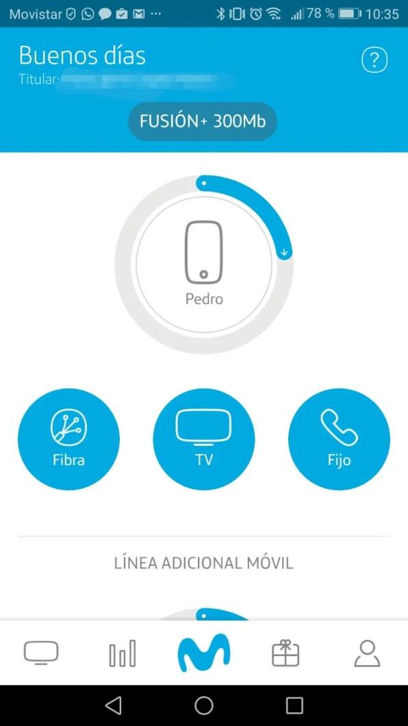 Mi Movistar Beta para Android 2