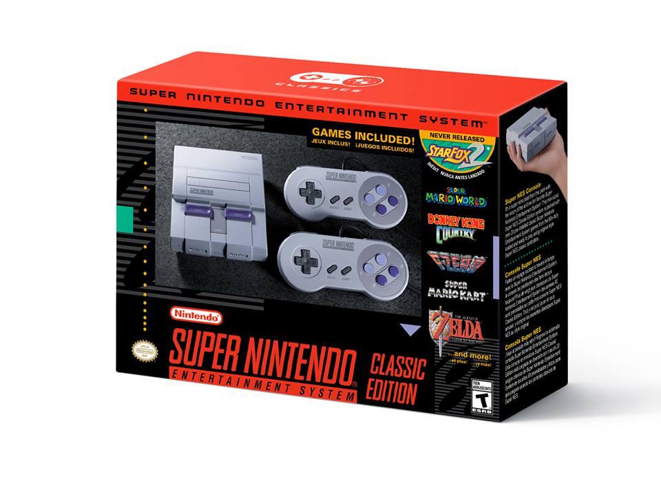 Nintendo pondrá a disposición del publico la SNES Classic el 29 de Septiembre