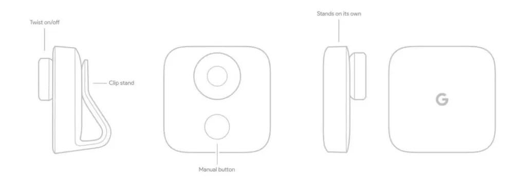 Google Clips una cámara inteligente con soporte para