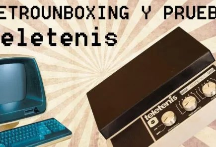 Teletenis Compact, retrounboxing y gameplay 11
