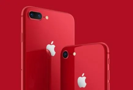 Apple anuncia los iPhone 8 y 8 Plus (Product) RED 2