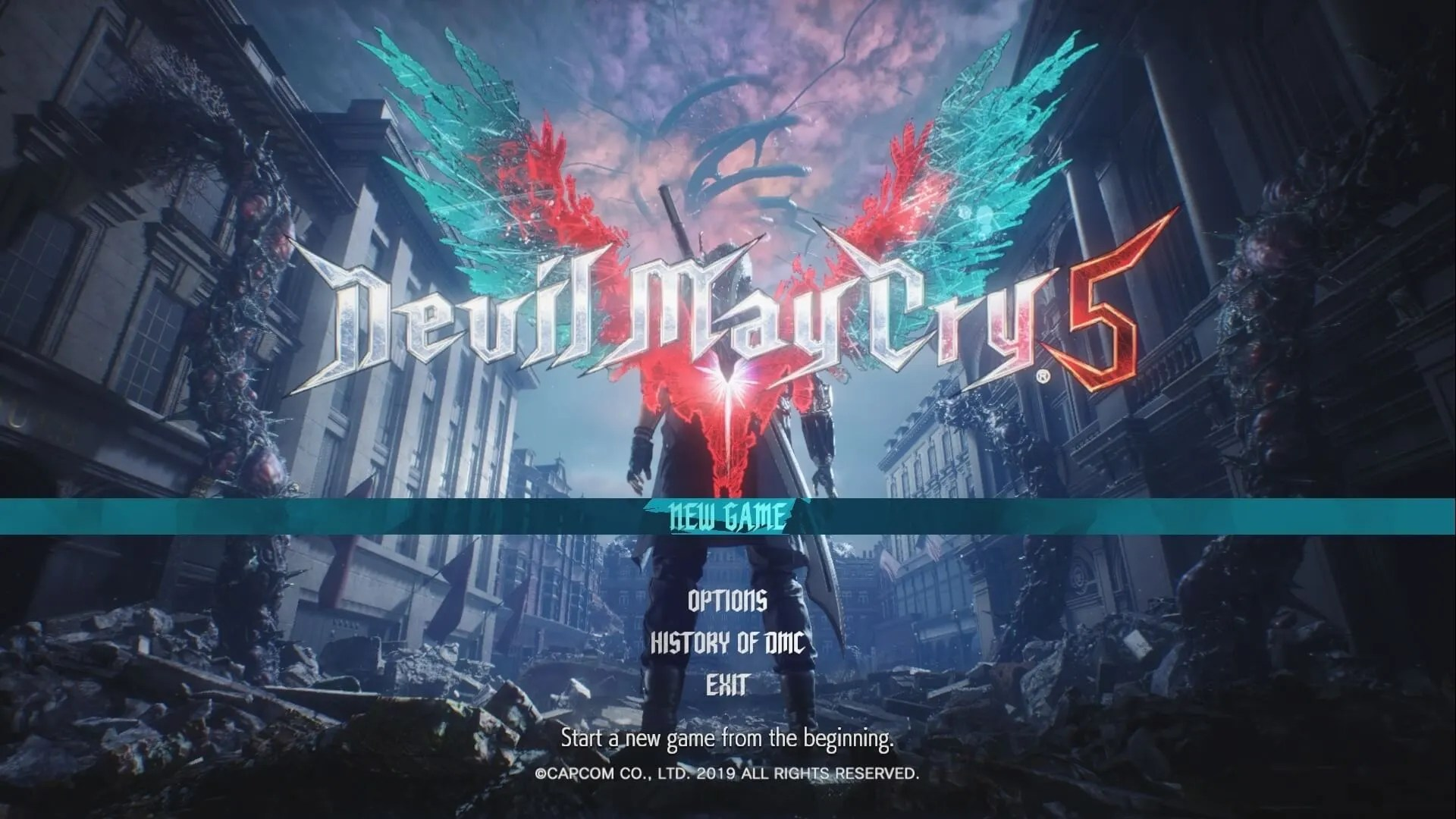 Devil May Cry 5 portada