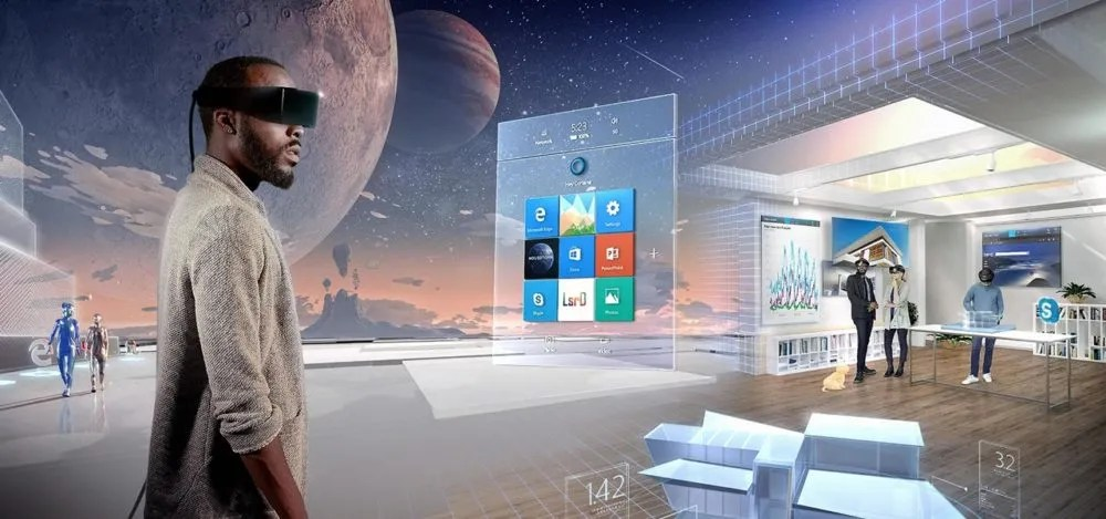 Windows Mixed Reality es el primer Sistema Operativo espacial 1