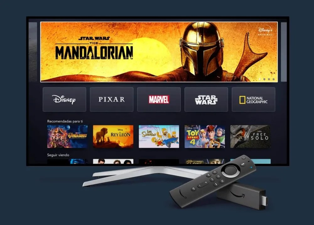 Disney+ estará disponible en los Fire TV