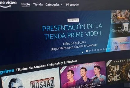 Tienda Prime Video de Amazon