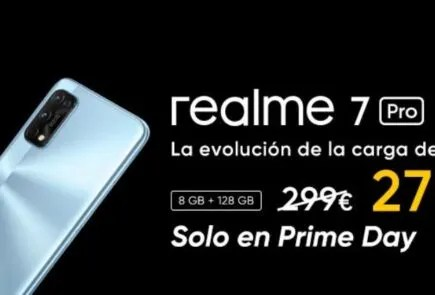Consigue tu Realme 7 Pro en oferta con el Amazon Prime Day