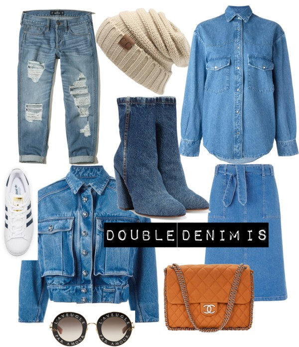 Why you should adopt the DOUBLE DENIM LOOK?
