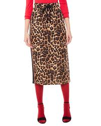 leopard–print–skirt