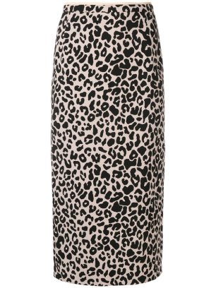 leopard–print–pencil–skirt